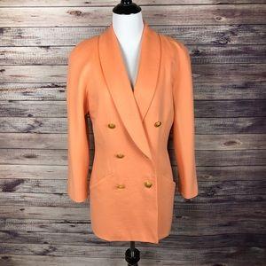 Escada Vintage Cashmere and Wool Blend Blazer